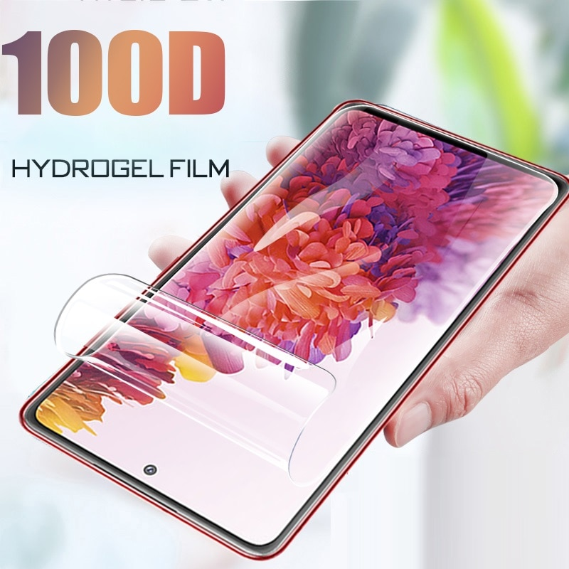 Hydrogel Film Screen Protector For Samsung Galaxy S7 edge S10 S20 S9 Plus Ultra For A50 A51 A70 A30S