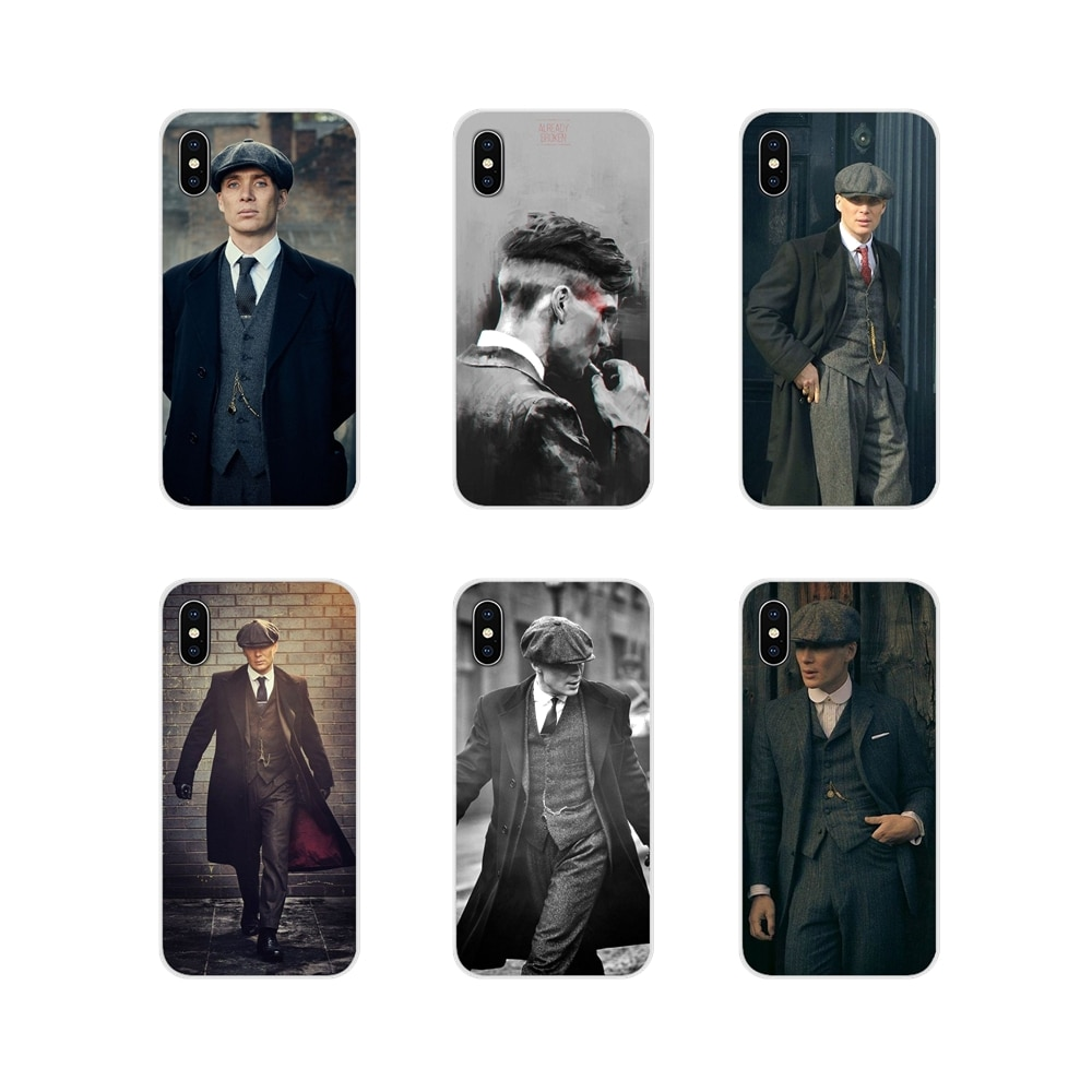 Para iPhone X de Apple XR XS 11Pro MAX 4S 5S 5C SE 6 6 S 7 7 Plus ipod touch 5 6 silicona caso de la piel del teléfono Peaky Blinders Cillian Murphy