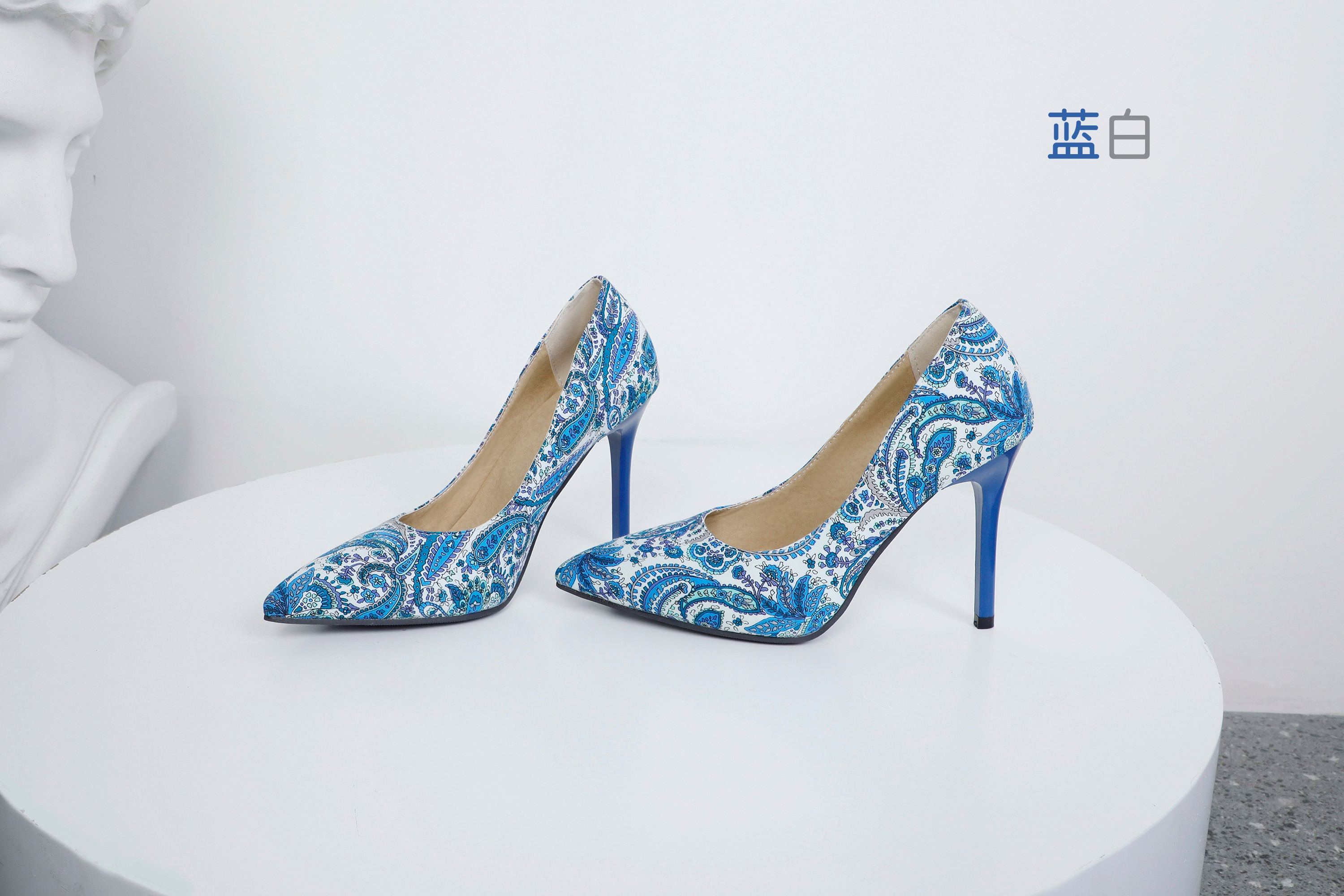 All Melody Women Super High Thin Heel Brocade Colorful Fashion Classical Charming Spring New Style Female Shoes Botas Mujeres
