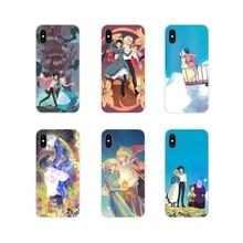 Anime Howls Howls Moving Castle Accessories Phone Cases Covers For Motorola Moto X4 E4 E5 G5 G5S G6 Z Z2 Z3 G G2 G3 C Play Plus