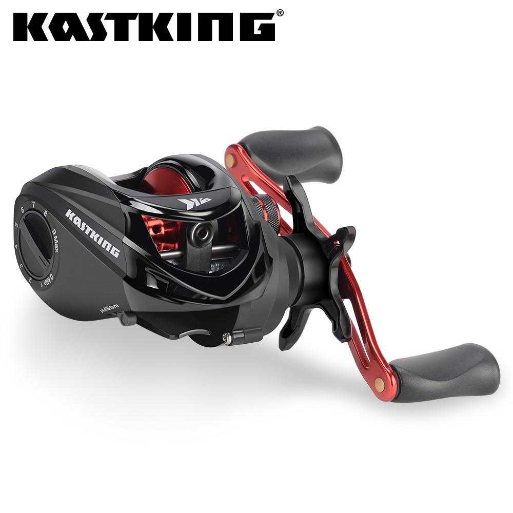 KastKing Brutus Baitcasting סליל דיג 6.31 יחס הילוך פליז הילוכים עיקרי גרפיט מסגרת אלומיניום ידית דיג סליל
