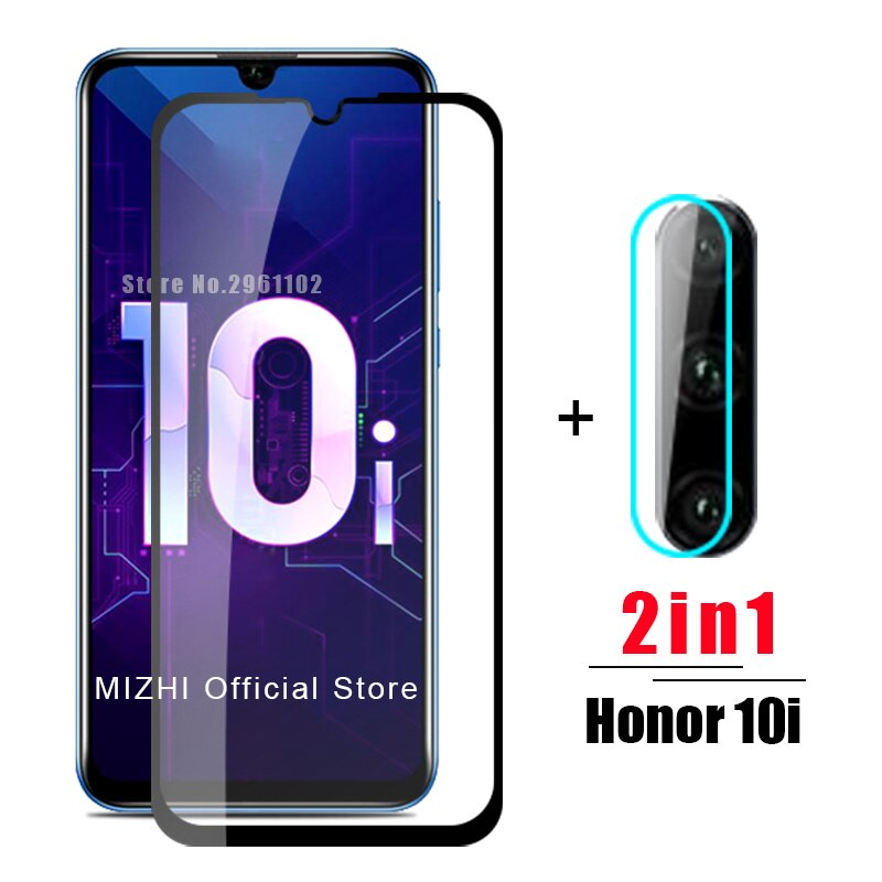 2в1 Защитное стекло для huawei honor 10i закаленное стекло на huwei honer 10 i honor10i HRY-LX1T Защитная пленка для объектива камеры
