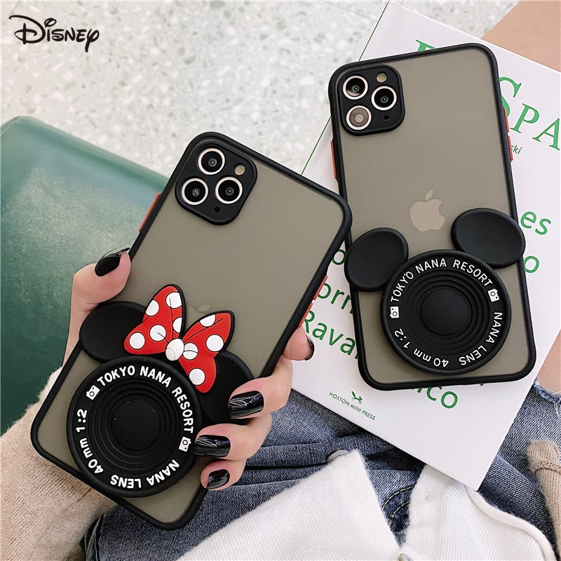 AliExpress - Disney original mobile phone case is suitable for iphone 11 cases 7/SE/8P/X/XR/XS/ XSMAX/1Pro/12min Mickey mobile phone cover