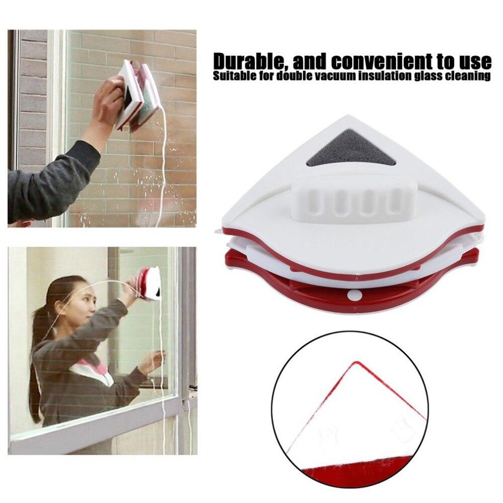 Ventana magnética limpiadora de vidrio de doble cara ajustable adecuada para herramientas de limpieza para vidrio huecas de doble capa de 15-22mm