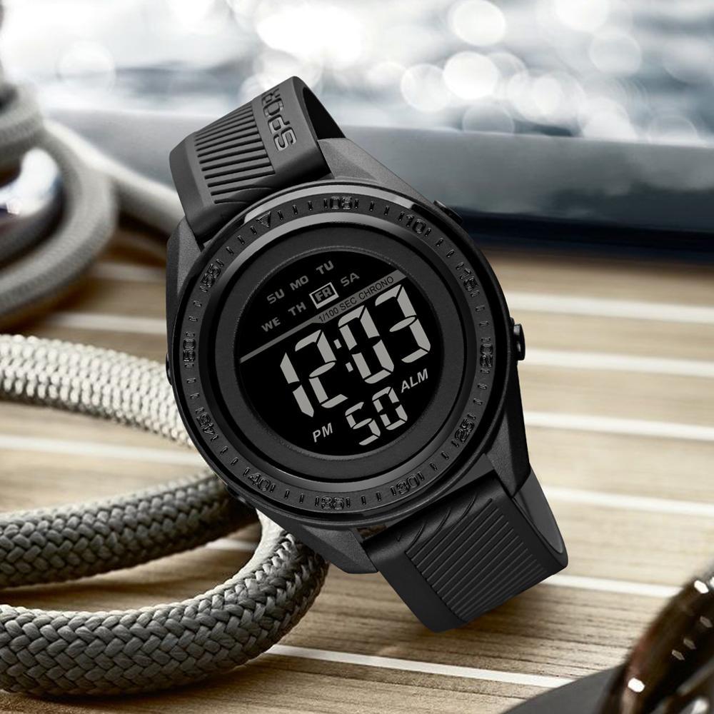 SKMEI Brand Fashion Sport Watch Multifunction Watches Military 5Bar Waterproof LED Digital Watch Relogio Masculino 1638