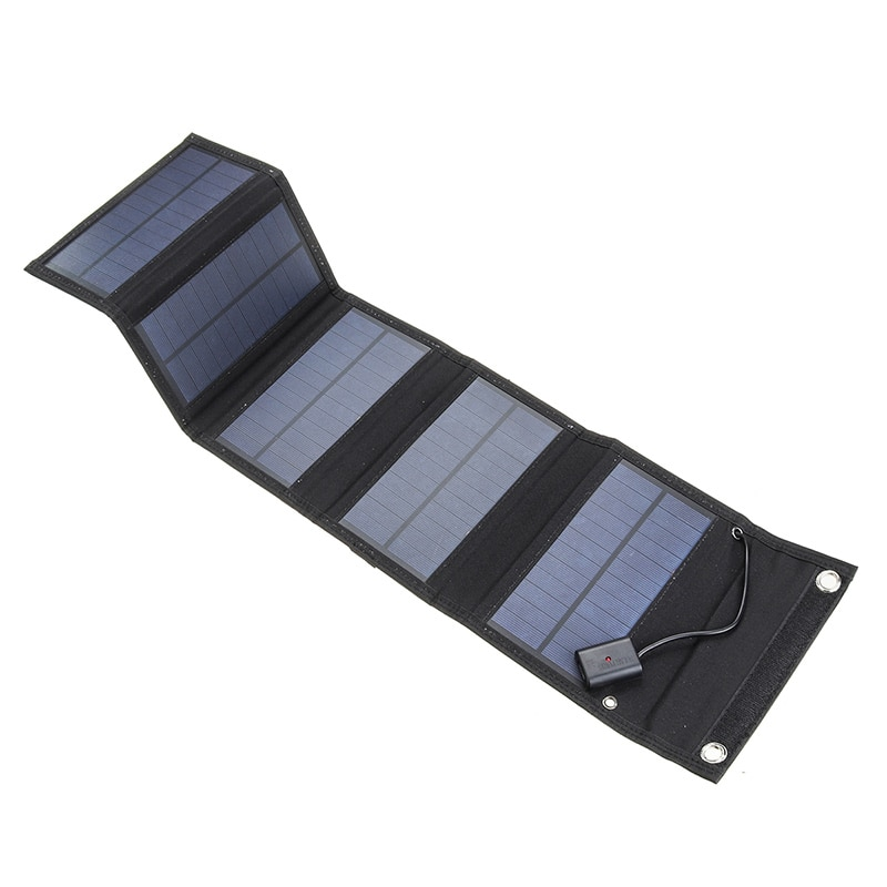 70W Foldable USB Solar Panel Portable Folding Waterproof Solar Panel Charger Outdoor Mobile Power Battery Charger