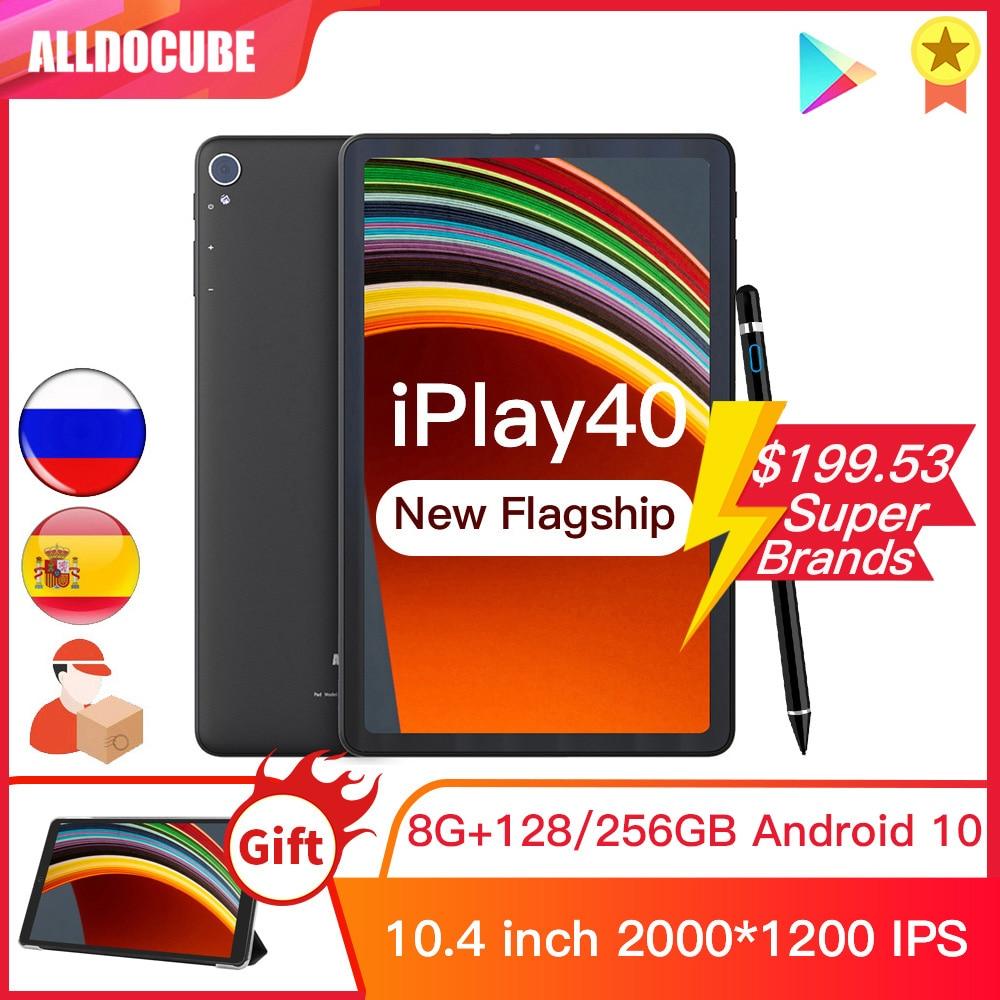 ALLDOCUBE iPlay40 10.4 inch 2K FHD 2000*1200 8GB RAM 128GB ROM Android 10  T618 CPU LTE phonecall 5G WiFi iPlay 40