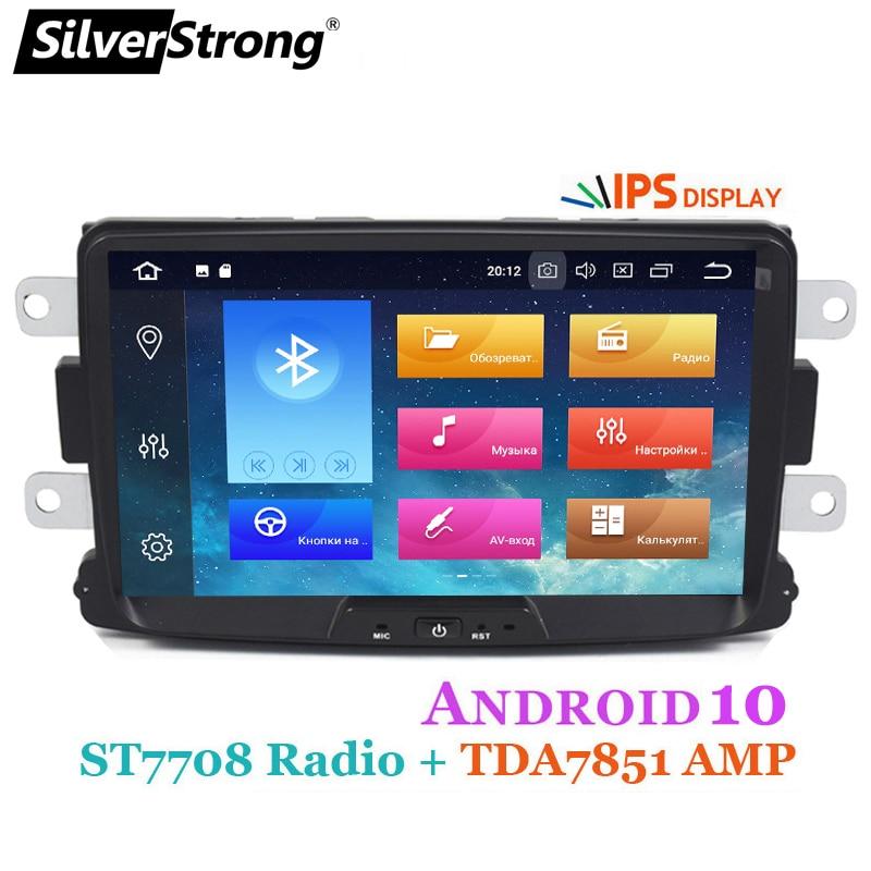 SilverStrong רכב מולטימדיה נגן Android10 Automotivo רדיו לדאקיה Sandero הדאסטר רנו Captur לאדה Xray 2 לוגן