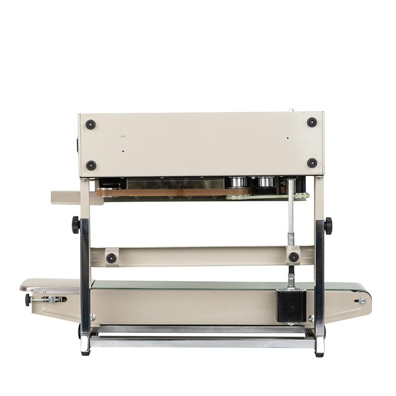Bespacker FR-880LW Vertical Style Continuous Band Sealer Sealer Machine Plastic Bag Shrink Sealing Machines enlarge
