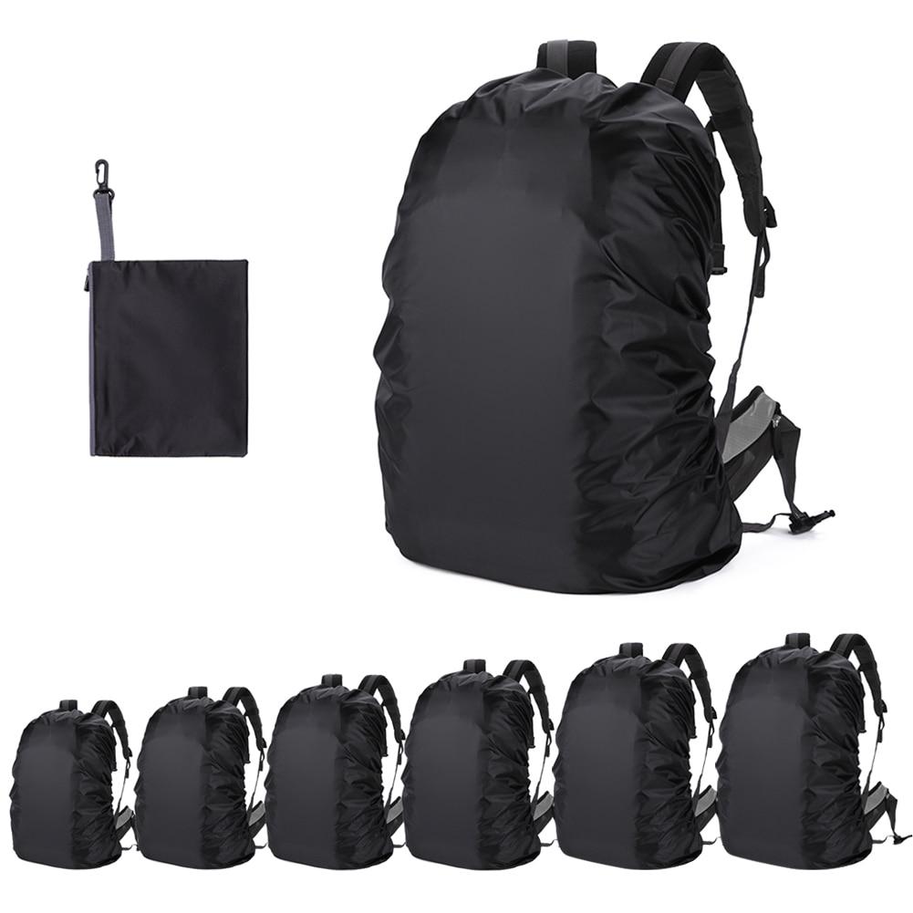 30-75l saco aterproof mochila capa de chuva esporte ao ar livre noite ciclismo segurança luz raincover saco acampamento caminhadas sacos