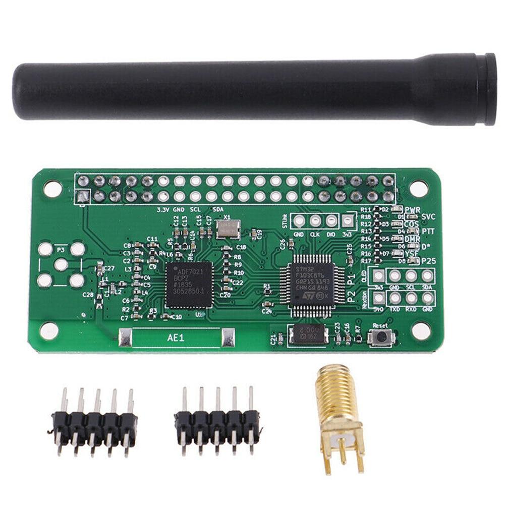 Módulo de punto de acceso MMDVM P25 DMR, placa de expansión de comunicación de circuito integrado, 433MHZ, portátil DIY para Raspberry Pi