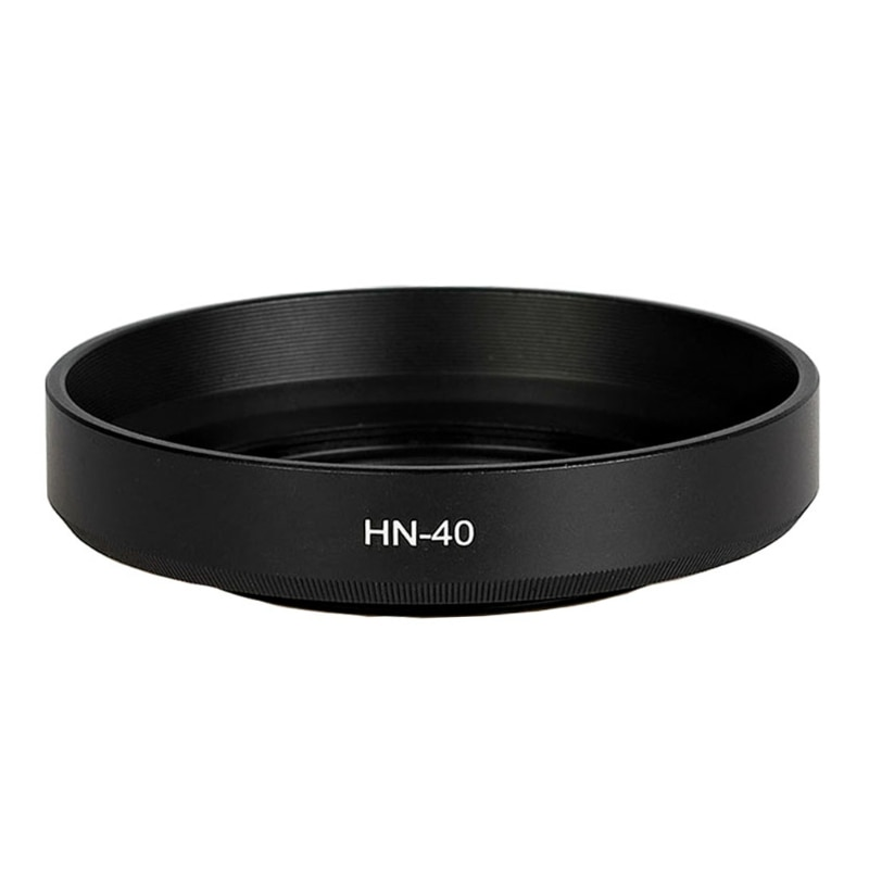 Screw-on Lens Hood for -Nikon Z DX, 16-50mm f / 3.5-6.3 VR Lenses, Replacement HN-40 Protector