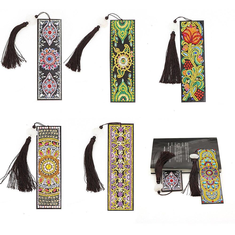 Huacan 5D алмазная вышивка закладка картина стразами мозайка цветы подарок ручной работы