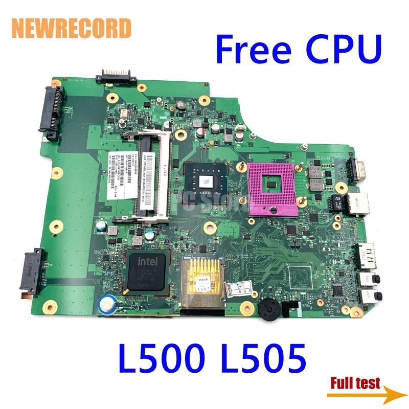اللوحة الام للحاسوب المحمول من نيوسجل V000185550 لـ توشيبا ستالايت L500 L505 6050A2302901 DDR3 GL40 اللوحة الرئيسية اختبار كامل