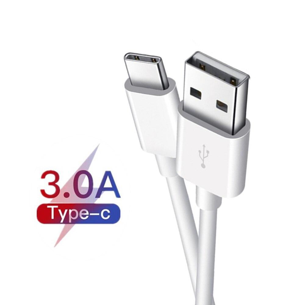 Cable de carga USB tipo C 3A, Cable de datos, cargador de...