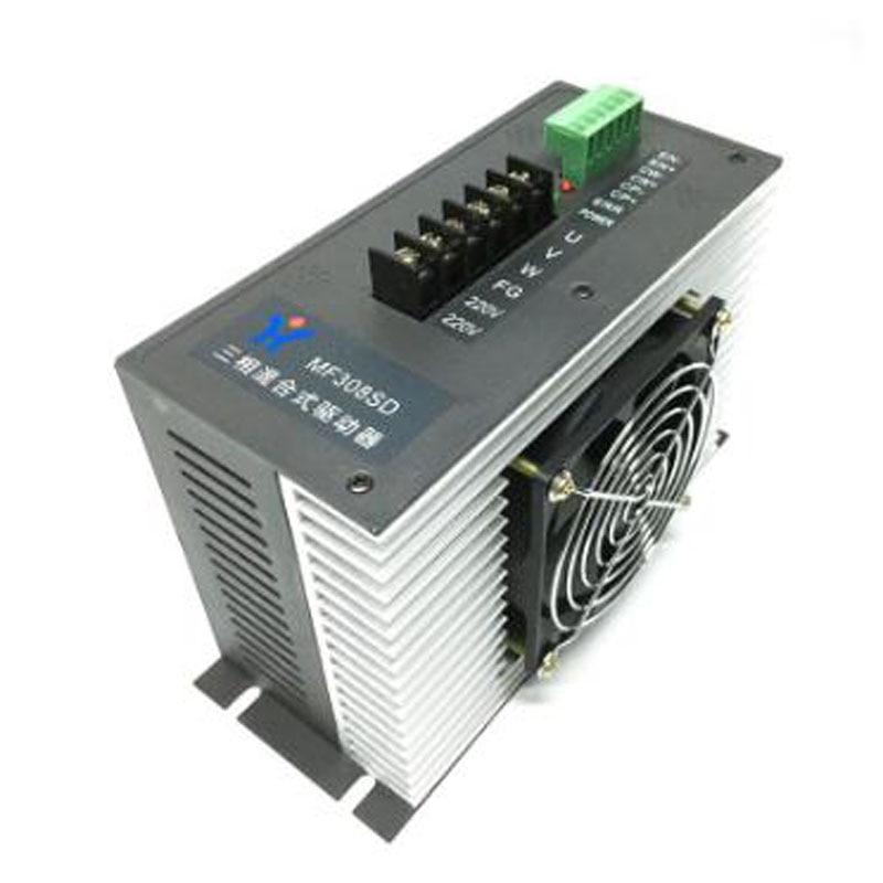 MD308SD contrôleur de lecteur hybride   Mise à niveau MF308SD, contrôleur de lecteur hybride trois phases AC220V 8.5A MF312SD, machine de fabrication de sacs