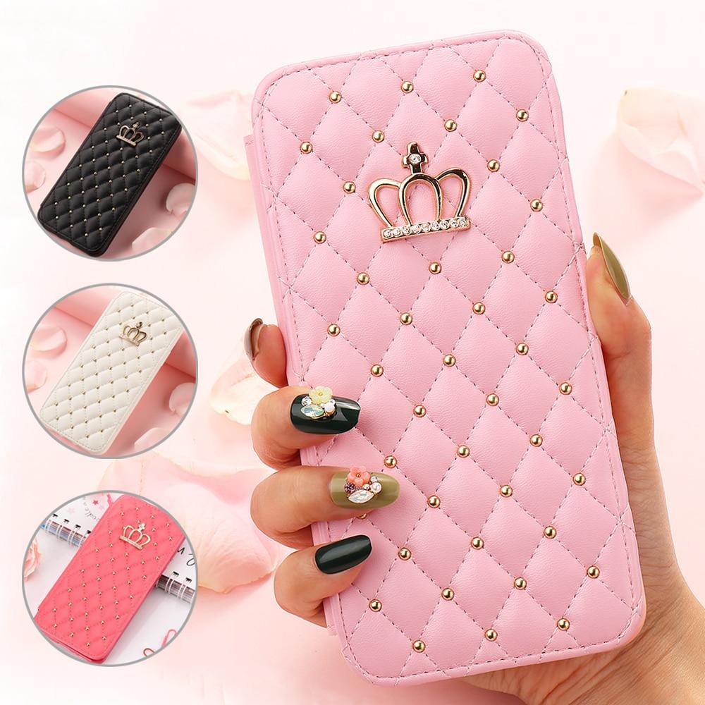 Чехол-бумажник для телефона IPhone 11 Pro Max X Xr Xs Girl, милый кожаный чехол для Iphone 8 Plus, 7, 6S, 6, 5 5S SE2, 12 Pro Max Mini