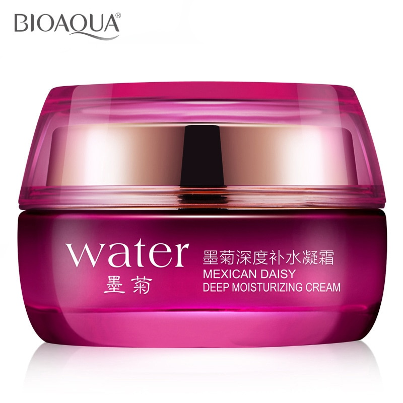 BIOAQUA Skin Care Mexican Daisy Deep Moisturizing Cream Anti-aging Anti-wrinkle Lock Water Replenishment Tender Face Skin Cream