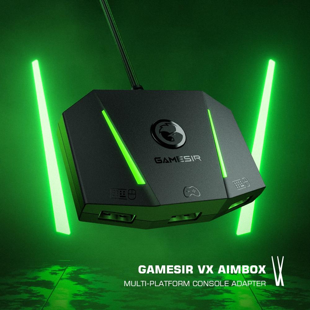 GameSir-محول لوحة المفاتيح والماوس ، VX AimBox ، محول لـ Xbox Series X/S ، Xbox One ، PlayStation 4 ، PS4 ، Nintendo Switch