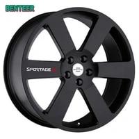 4pcs car wheel stickers for kia sportage r