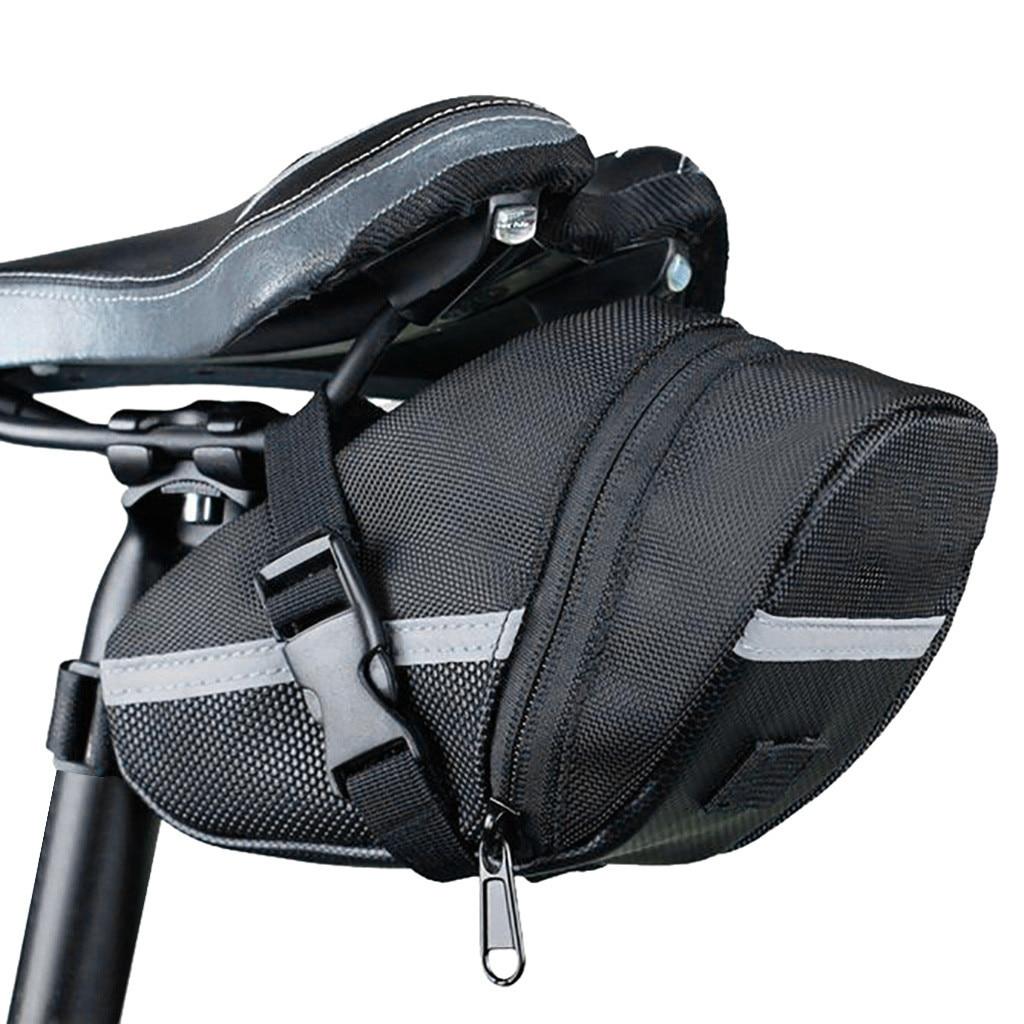 Bolsa de sillín de bicicleta, bolsa de cojín, bolsa de almacenamiento resistente al agua y de gran calidad, bolsa de sillín, mochila S6 para montar en bicicleta