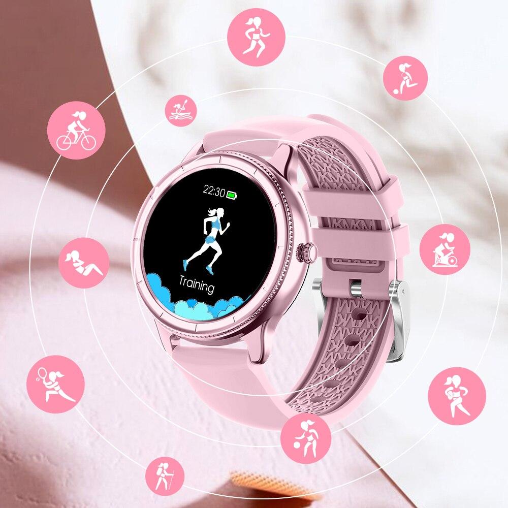 Cardíaca de Fitness Inteligente para Android Rollstimi Relógio Inteligente Bluetooth 2021 Smartver Freqüência Rastreador Feminino Digital Ios Ip68