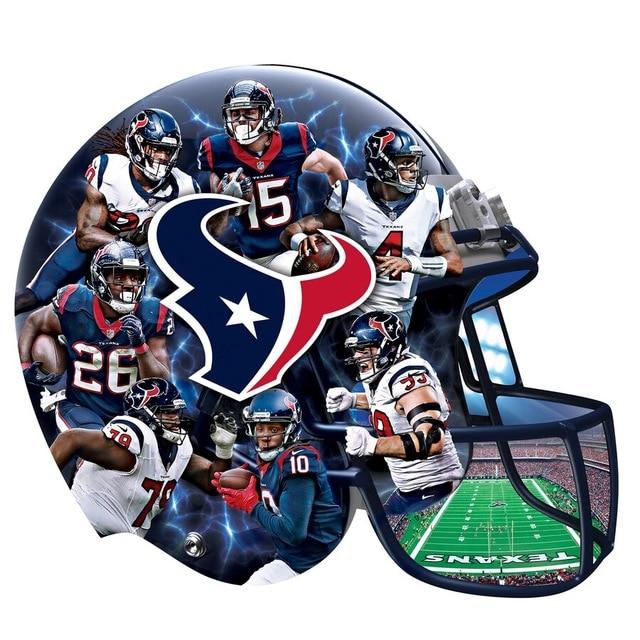 JMINE Div 5D fútbol americano Nfl-Houston-Texans pintura de diamante completo punto de cruz kits de arte fútbol pintura 3D por diamantes