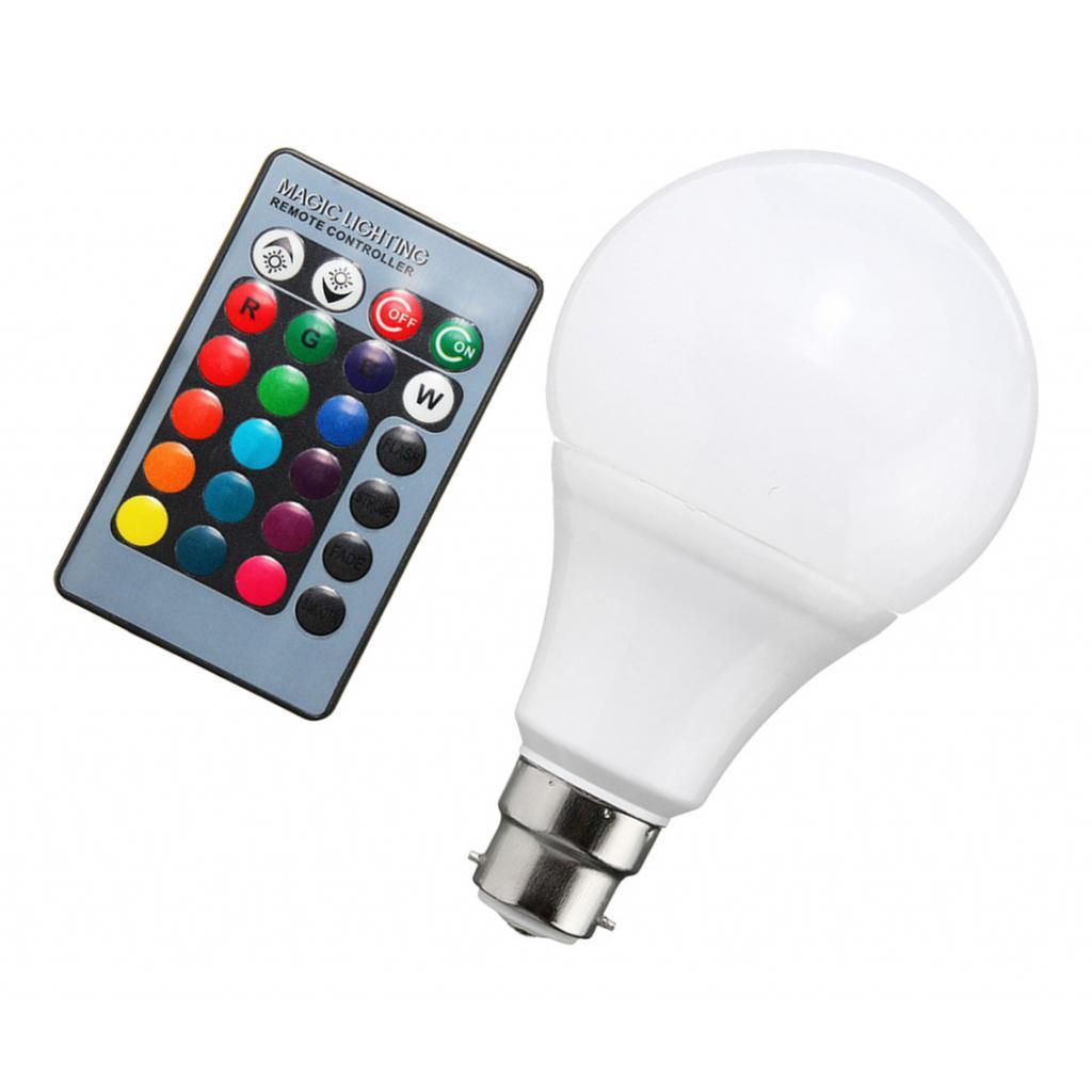B22 RGB Bulb Remote Color LED Light Bulb Color Changing Light Bulbs