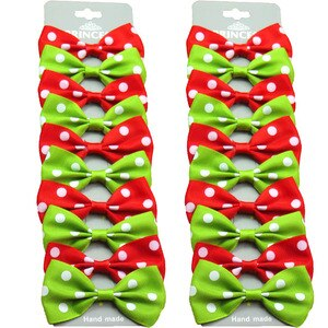 20PCS/Lot Lovely Christmas Bow Hairpins Grosgrain Ribbon Bows Clips 2020 Korean Creativity Hair Accessories For Baby Girls NEW