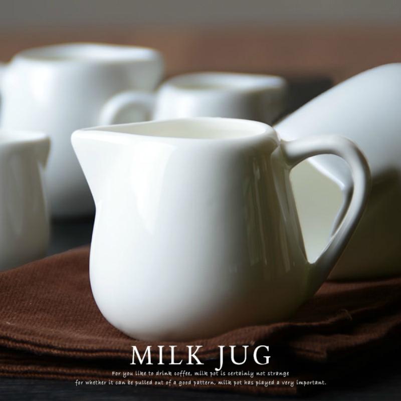 Cafetera europea, jarra cerámica para Leche, té De la tarde, café Barista, cafetera, herramientas, jarro De Leche, taza De café, Espumador De Leche