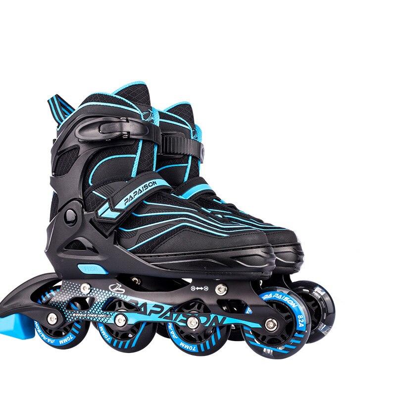 Регулируемые роликовые коньки из полипропилена и полипропилена, Профессиональные роликовые коньки Slalom, обувь для катания на роликах, свобо...