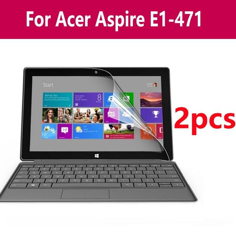 Un conjunto de Protector de pantalla para tableta Microsoft Surface película protectora Pet para superficie portátil para Acer Aspire E1-471