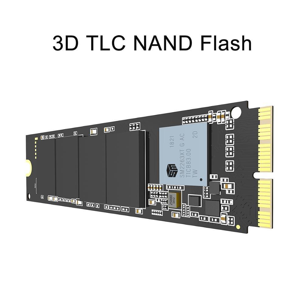 INDMEM 256GB 512GB 1TB M.2 SSD PCIe for Mac SSD M2 NVMe SSD Hard Drive Gen3x4 3D NAND Flash SSD 1TB for MacBook Air/Macbook Pro