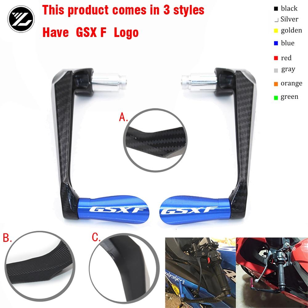 Empuñaduras de manillar de motocicleta, Protector de barra de freno, Protector de palancas de embrague para suzuki gsxf gsx-f gsx f GSXF 650 1250