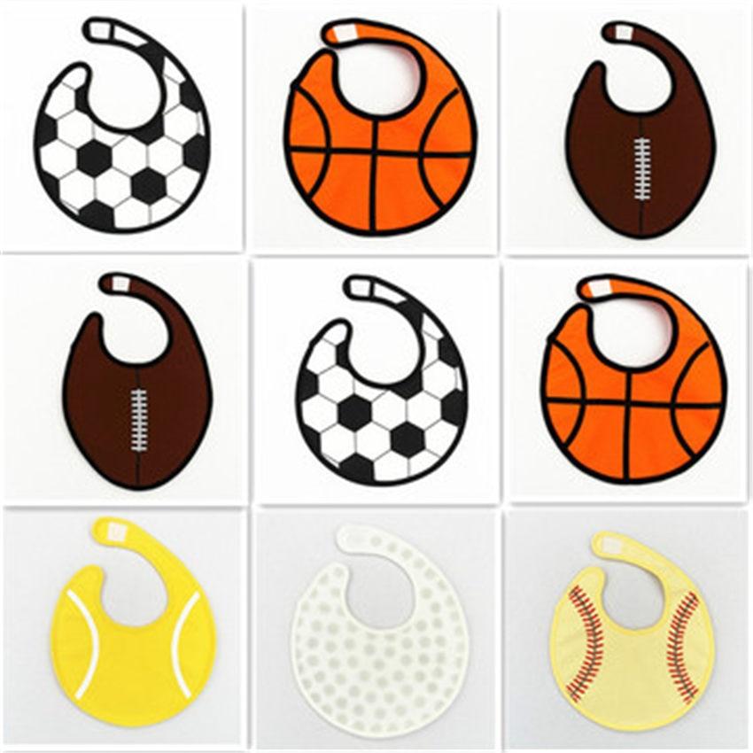 Милые детские нагрудники с рисунком шариков, водонепроницаемый нагрудник для младенцев, слюнявчик для кормления, мультяшный Регулируемый ...