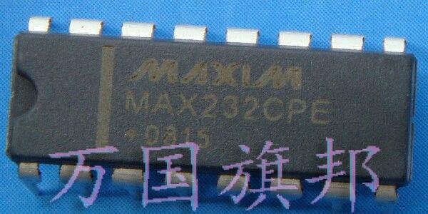 ¡Entrega Gratuita! Circuito integrado IC MAX232CPE chip de conversión DIP-16