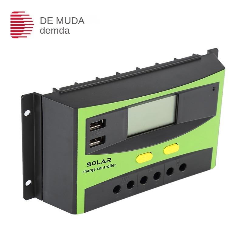 Fábrica al por mayor controlador 30A 12v24v fotovoltaico LED Streetlight iluminación inteligente Solar controlador Spot
