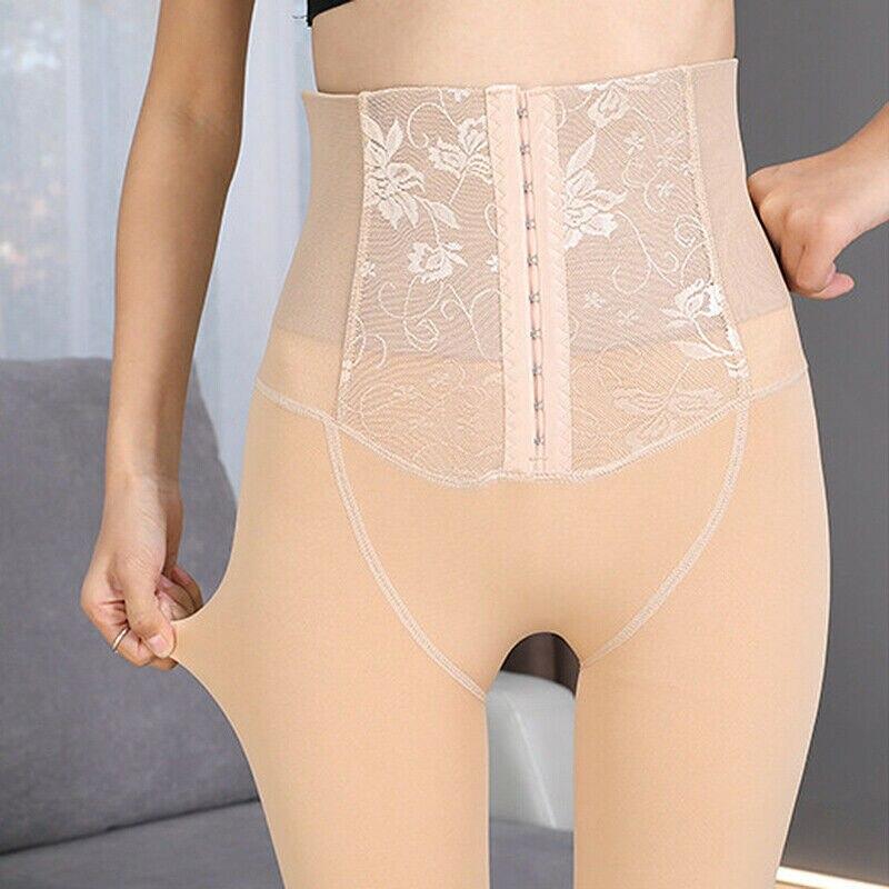 New-coming Ladies Women Autumn Bottoming Warm Shaper Pants Women's Winter Elastic High Waist Body Shaper Leggings
