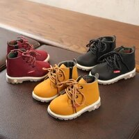 childrens shoes 2021 spring and autumn kids single boots boys boots new style girls boots martin boots fashion hot size 21 30