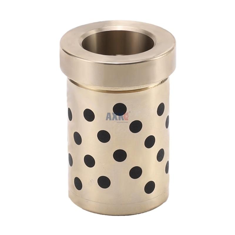 1 قطعة JGBF القياسية قاعدة قالب دليل مجموعة من شفة خالية من النفط الدقة الأسطوانة تحمل داخل القطر 30 35 40