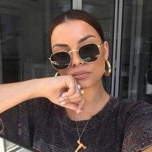 2020 Hexagon Sunglases Women Brand Mannen Man Driving Shades Male Sunglasses For Mens Glasses Gafas De sol UV400