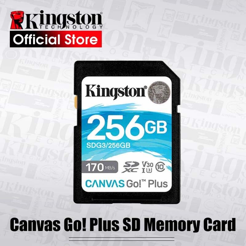 Kingston SD Karte 128GB 64GB 32GB-speicher karte 256gb Class10 uhs-i U3 4K 512gb cartao de memoria für SLR kameras drohnen