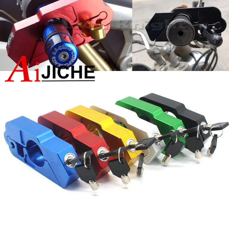 Handlebar Lock For Ducati Monster 696 848 1098 821 Scooter ATV Brake Clutch Security Safety Theft Protection Locks Accessories