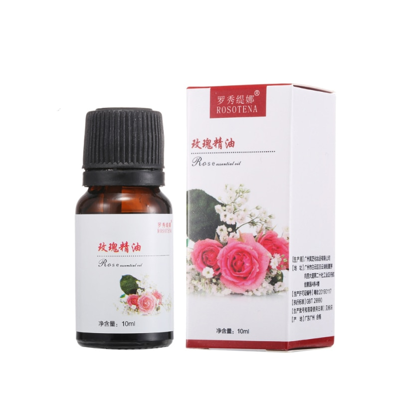Essential Oils Relax Aromatherapy Plant Lavender Rose Improve Sleep Massage Thermal Body Oil Skin Ca