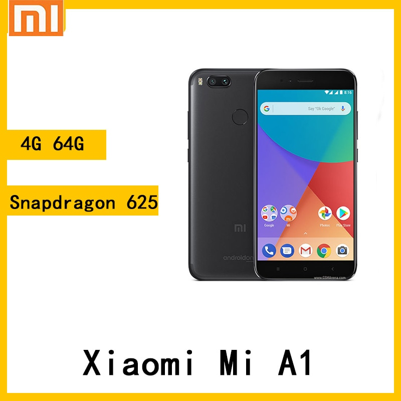 Xiaomi Mi A1 4 Гб 64 Гб аккумулятор 3080 мАч отпечаток пальца snapdragon 625