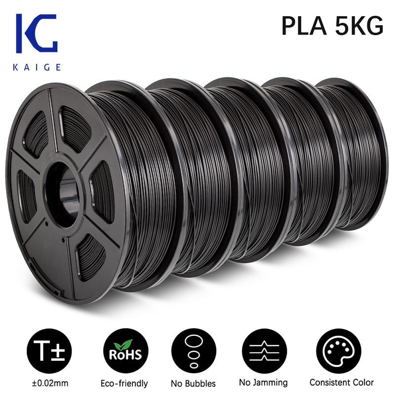 KAIGE 1.75MM 5KG PLA/PETG/PLA/SILK/TPU Sublimation Products Filament For FDM 3D Printer Reprap Environmental Friendly Non-toxic