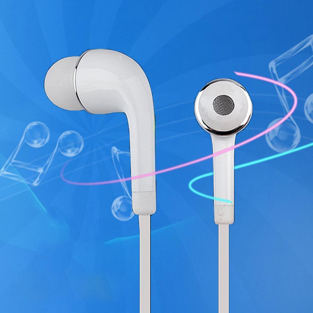 1pc Universal 3.5mm In-ear Casual Earbud Microphone Vivo Samsung Apple For Xiaomi Htc Headset Samsung Mobile-phone Stereo H J1K7