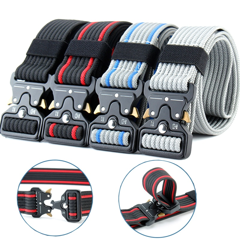 excellent elite spanker outdoor tactical molle nylon patrol waist belts army military accessories jungle hunting combat men belt Multicolor Nylon Belt Men Army Tactical Belt Molle Military SWAT Combat Belts Knock Off Survival Waist Tactical Gear Dropship