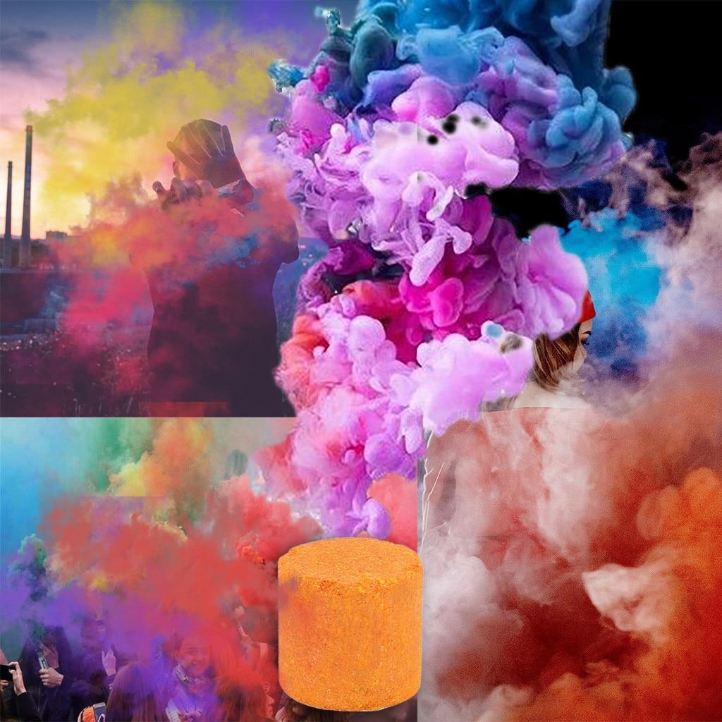 Дымчатый торт 2019 2 шт. реквизит для фотографии 1 цветной эффект дыма шоу круглая