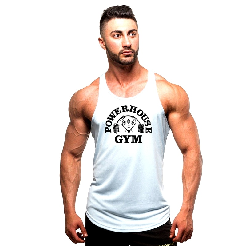 2021 new product fitness tights men's cotton gym sleeveless shirt men's fitness vest sweat shirt fit